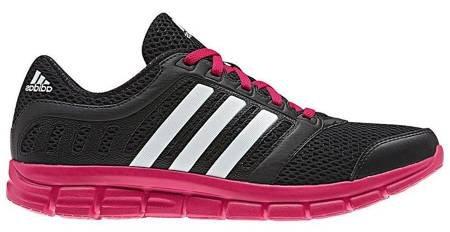 BUTY adidas BREEZE 101 2 W czarno/różowe /B44041