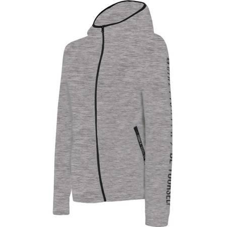 Bluza damska 4F chłodny jasny szary melanż H4L19 BLD004 27M