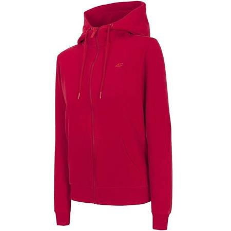 Bluza damska 4F czerwona NOSD4 BLD300 62S