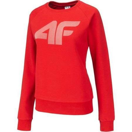 Bluza damska 4F czerwona NOSH4 BLD001 62S