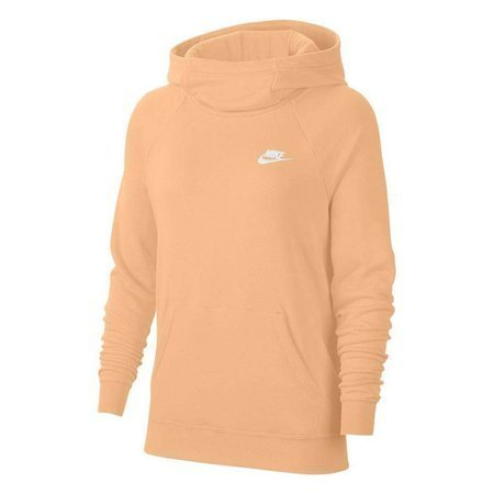 Bluza damska Nike Essentials Fnl Po Flc jasnopomarańczowa BV4116 734