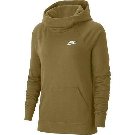 Bluza damska Nike Essentials Fnl Po Flc zielona BV4116 368