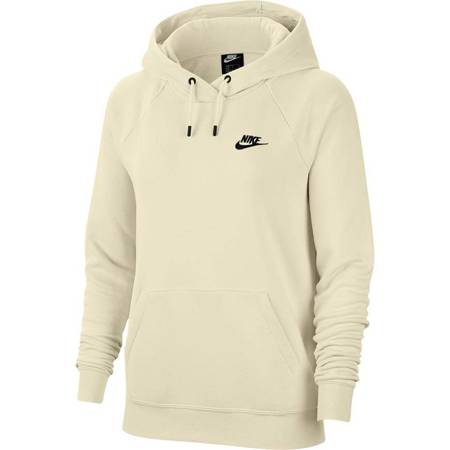 Bluza damska Nike Essentials Hoodie Po Flc beżowa BV4124 113