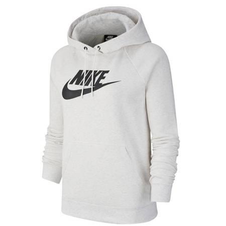 Bluza damska Nike W Essential Hoodie PO HBR biała BV4126 051