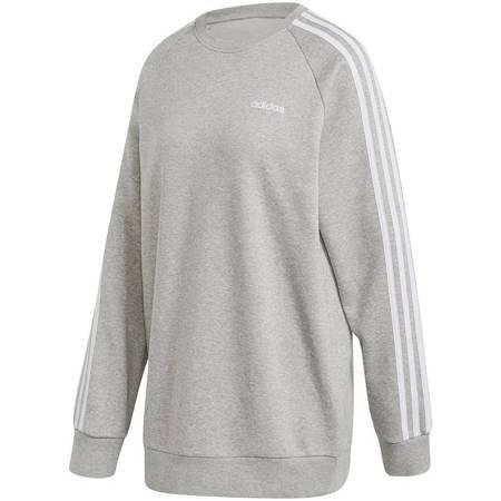 Bluza damska adidas Essential Boyfriend Crew szara FN5785
