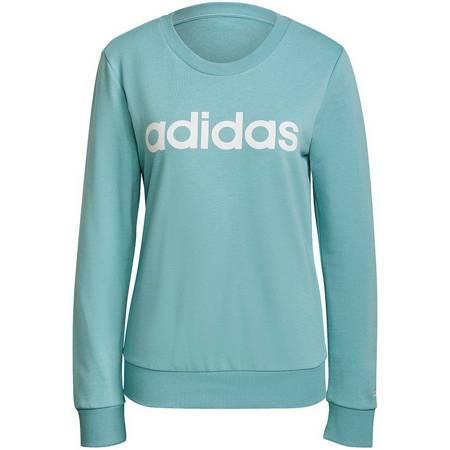 Bluza damska adidas Essentials Logo S błękitna H10144