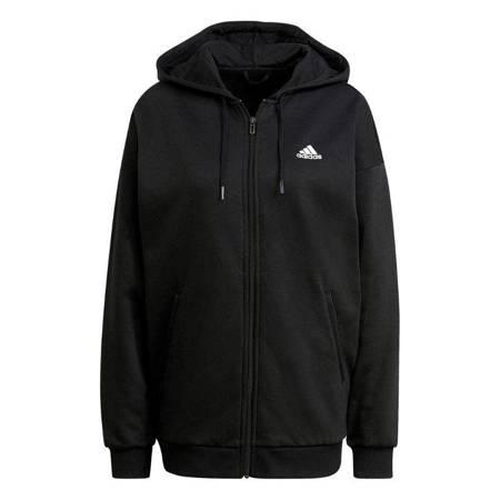 Bluza damska adidas Essentials Small Logo czarna GR9606