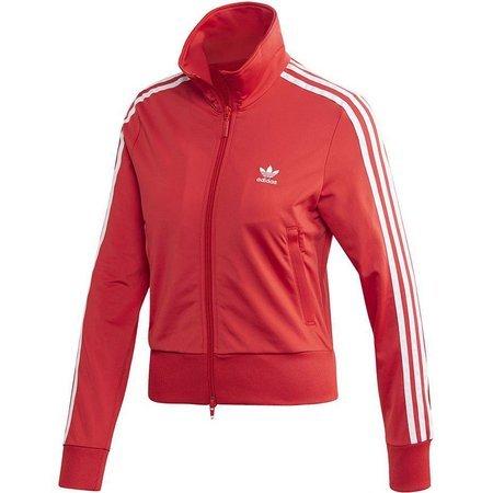 Bluza damska adidas Firebird Track Top czerwona FM3268