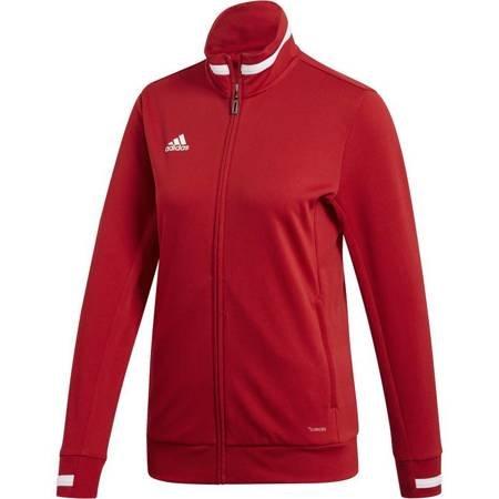 Bluza damska adidas Team 19 Track Jacket Women czerwona DX7326