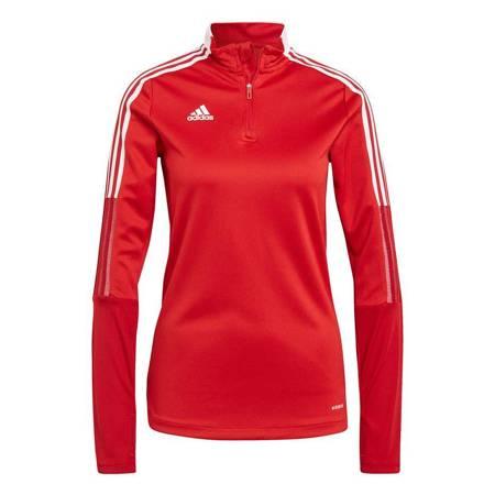 Bluza damska adidas Tiro 21 Training Top czerwona GM7317