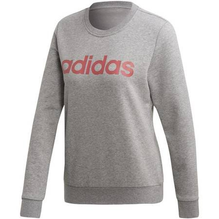 Bluza damska adidas W Essentials Linear Sweat szara FH6608