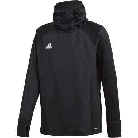 Bluza dla dzieci adidas Condivo 18 Warm Top JUNIOR czarna CF4349