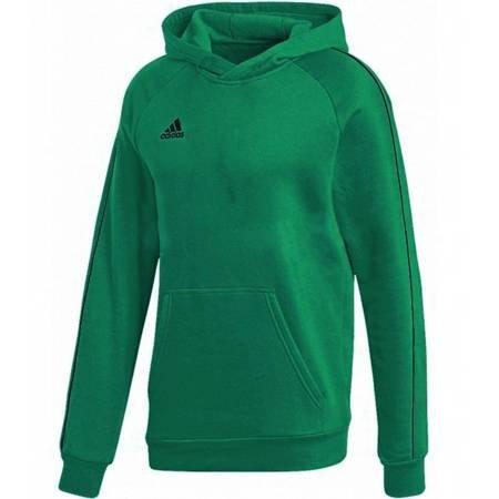 Bluza dla dzieci adidas Core 18 Hoody Youth zielona FS1893
