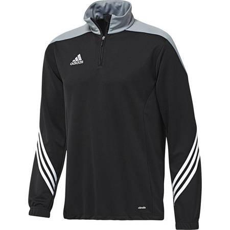Bluza dla dzieci adidas Sereno 14 Training Top JUNIOR czarno-szara F49718