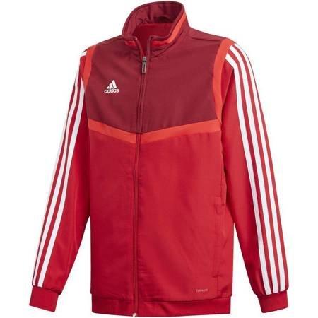 Bluza dla dzieci adidas Tiro 19 Presentation Jacket JUNIOR czerwona D95931
