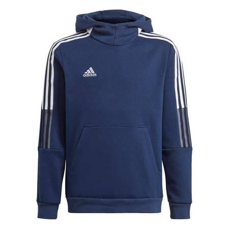 Bluza dla dzieci adidas Tiro 21 Sweat Hoody granatowa GK9680