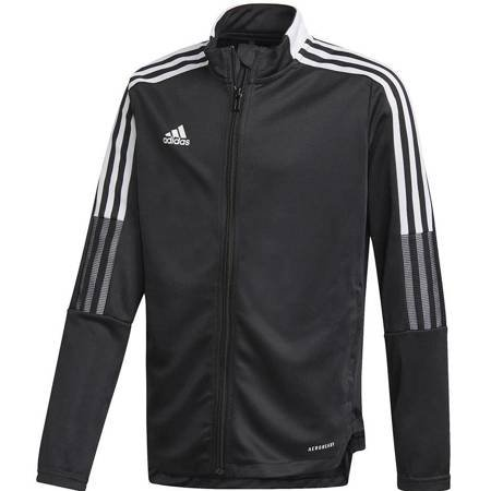 Bluza dla dzieci adidas Tiro 21 Track Jacket Youth czarna GM7314