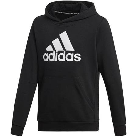 Bluza dla dzieci adidas YB MH Bos PO czarna DV0821