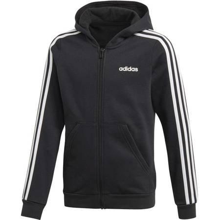 Bluza dla dzieci adidas YG E 3S FZ HD czarna EH6120