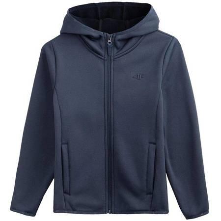 Bluza dla dziewczynki 4F granat HJL20 JPLD001A 31S