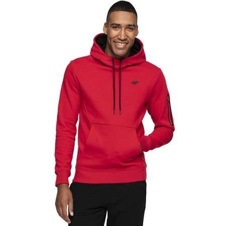 Bluza męska 4F czerwona H4Z19 BLM070 62S