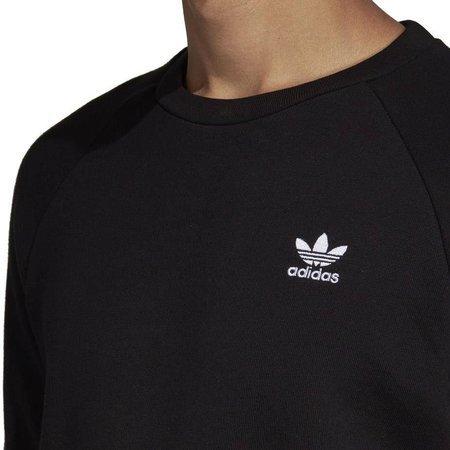 Bluza męska adidas Essential Crew czarna DV1600