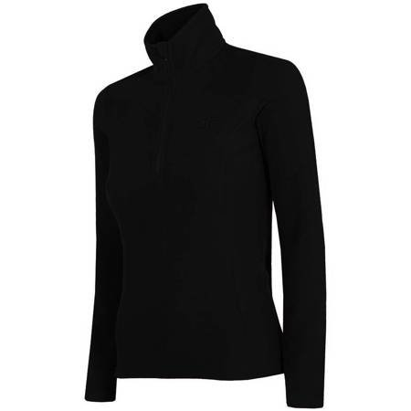 Bluza polarowa damska 4F głęboka czerń H4Z19 BIDP001 20S