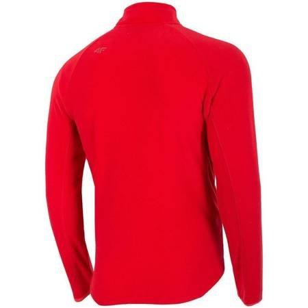 Bluza polarowa męska 4F czerwona H4Z19 BIMP001 62S