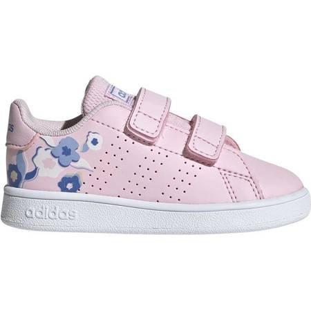 Buty dla dzieci adidas Advantage I różowe EF0304