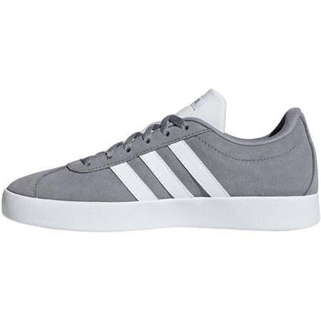 Buty dla dzieci adidas VL Court 2.0 K szare B75692