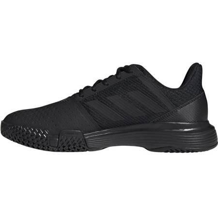 Buty męskie adidas CourtJam Bounce M czarne EE4319