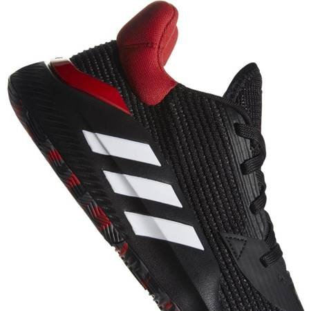 Buty męskie adidas Pro Bounce 2019 Low czarno czerwone  G26182