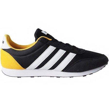 Buty męskie adidas V Racer 2.0 czarno-biało-żółte EG9913