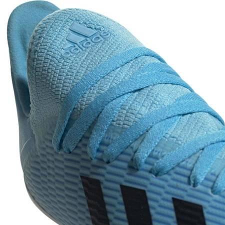 Buty piłkarskie adidas X 19.3 FG JUNIOR niebieskie F35366