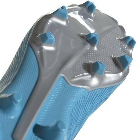 Buty piłkarskie adidas X 19.3 LL FG JUNIOR niebieskie EF9114