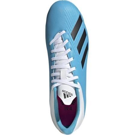 Buty piłkarskie adidas X 19.4 IN niebiesko białe F35341
