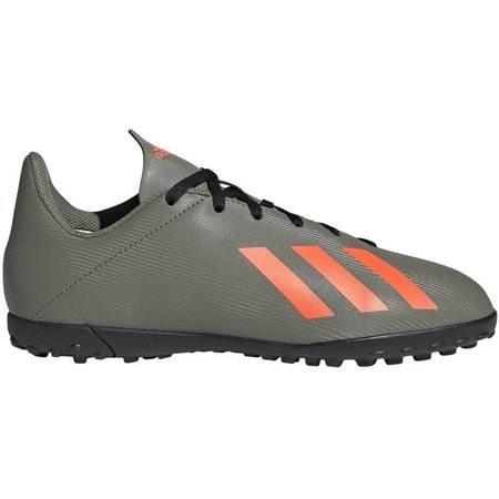 Buty piłkarskie adidas X 19.4 TF JR zielone EF8378