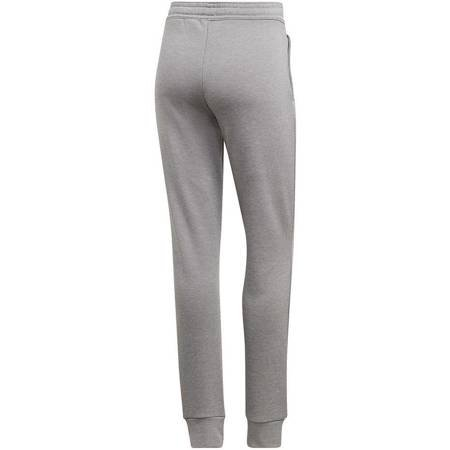 Dres damski adidas WTS Lin FT Hood szaro-biały EI0758