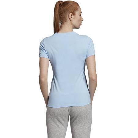 Koszulka damska adidas Essentials Linear niebieska EI0695