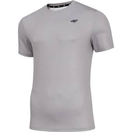 Koszulka męska 4F szara H4Z19 TSMF001 25S