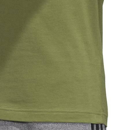 Koszulka męska adidas Essentials Linear Tee zielona EI9823