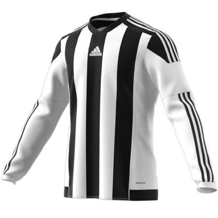 Koszulka męska adidas STRIPED 15 JSY biało-czarna M62778