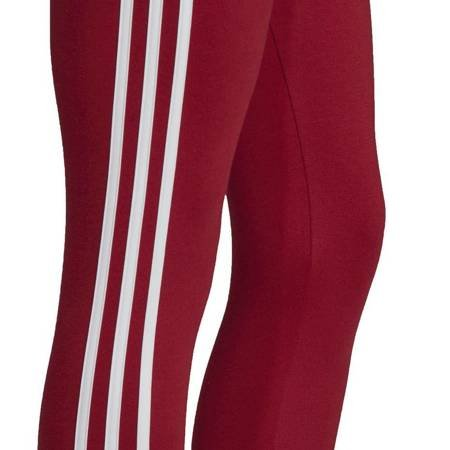 Legginsy damskie adidas Essentials 3Stripes Tight czerwone EI0768