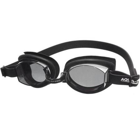 Okulary pływackie Aqua-Speed Asti czarne kol.07
