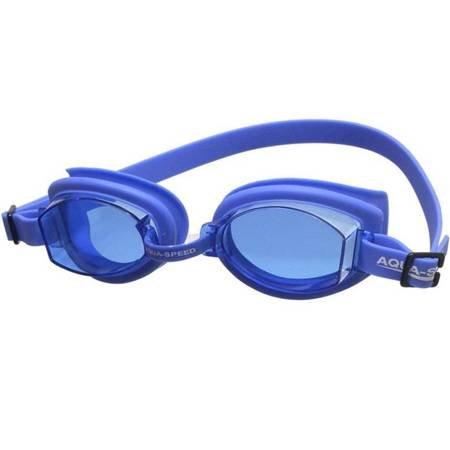 Okulary pływackie Aqua-Speed Asti niebieskie kol.01