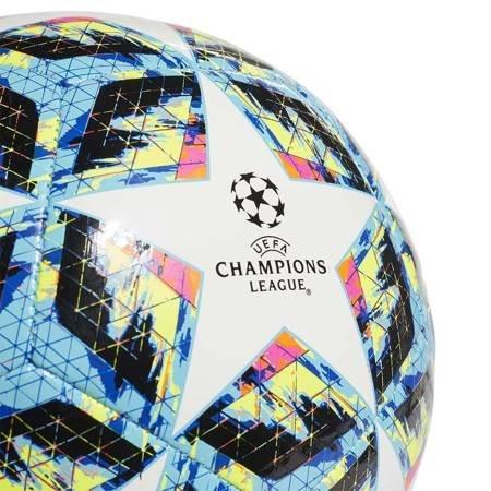 Piłka nożna adidas Finale Sala 5x5 biało niebiesko czerwona DY2548