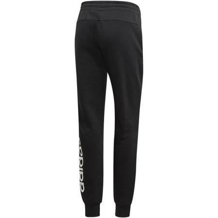 Spodnie damskie adidas W Essentials Linear Pant czarne DP2399