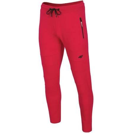 Spodnie męskie 4F czerwone H4Z19 SPMD072 62S