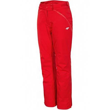 Spodnie narciarskie damskie 4F czerwone X4Z18 SPDN152 62S