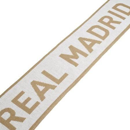 Szalik męski adidas Real Scarf biały OSFM DY7706